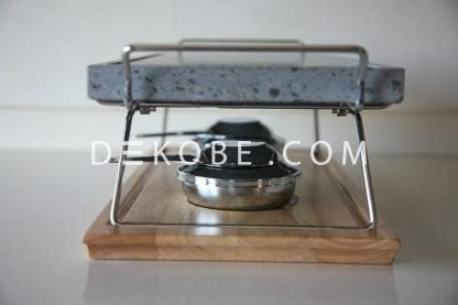 cooking stone 37x19x2 2 burners r1a047 luxe 5