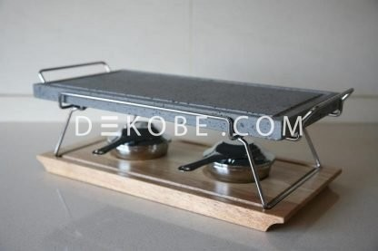 cooking stone 37x19x2 2 burners r1a047 luxe 7