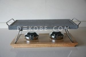 cooking stone 37x19x2 2 burners r1a047 luxe 8
