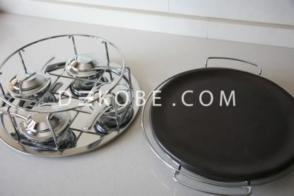 refractory ceramic dish with 4 burners r1a002 2