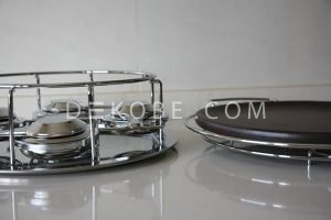 refractory ceramic dish with 4 burners r1a002 4